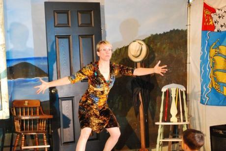 Louise Moyes au Folk Fest 2010 sous la Tente francophone