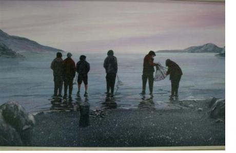 Michael Lainey-Les pêcheurs de caplans