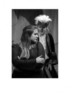 Nancy Breau et Jeffery Taylor avec Opera RoadShow/Opéra en tournée dans Le Nez de la Sorcière