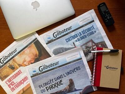 Le Gaboteur, offert en version papier et numérique.