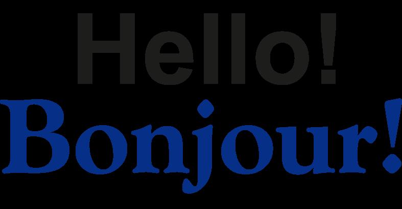 Hello Bonjour Health Community Resources
